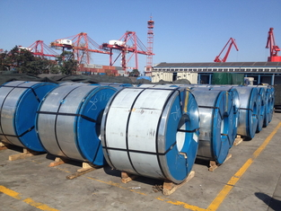 Cina SPCD Cold Rolled Stainless Steel Coil Galvanized Steel Strip Anti Korosi pemasok