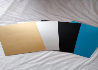 Cina ASTM B209 Pre Painted Aluminium Sheet / Colored Anodized Aluminium Sheets pemasok
