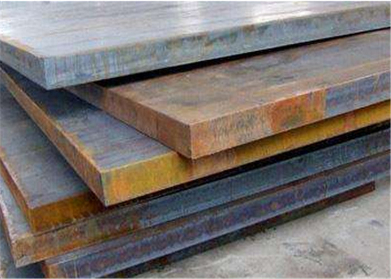 Carbon Structural Hot Rolled Mild Steel , Low Alloy Flat Steel Plate