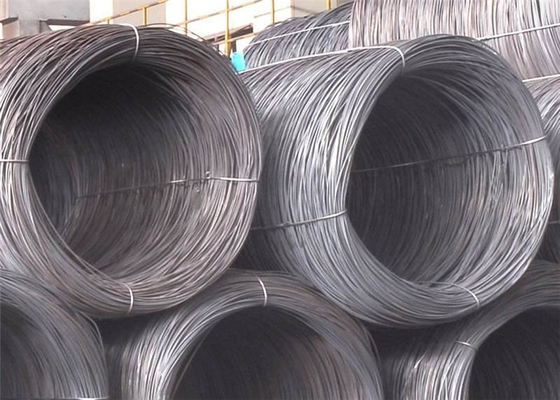 Cina SAE1006 Steel Wire Rod, SAE1008 10mm Steel Wire untuk Cold Drawing Nail Making dan Bahan Bangunan pemasok
