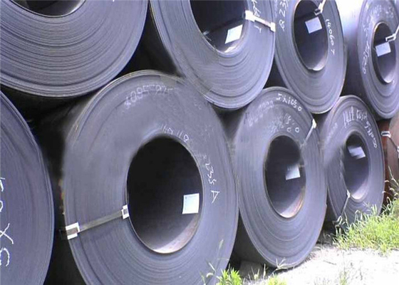 Cina Custom Black Painted Hot Rolled Steel Coil GB JIS Standard 1.2mm - Ketebalan 20mm pemasok