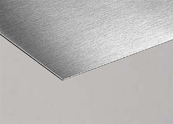 Cina Hot Rolled Stainless Steel Metal Sheet 0,3-5,0mm Ketahanan Korosi pemasok