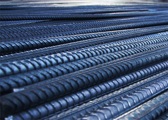 Cina Hot Rolled Ribbed Deformed Steel Bars GB 1499-98 HRB 335 HRB 400 HRB 500 Panjang 9m -12m pemasok