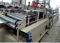 Cina PLC Control Steel Roll Forming Machine / CZ Purlin Roll Forming Machine pabrik