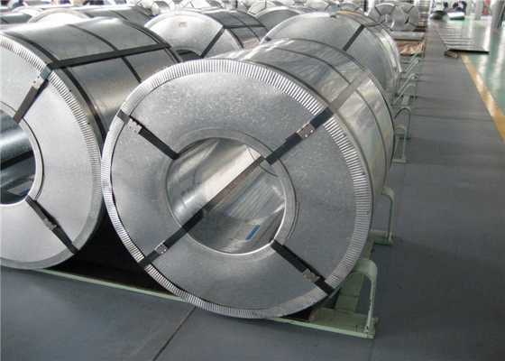 Cina Regular / Mini Hot mencelupkan galvanis Steel Coil Zinc Coating 45 - 275GSM pabrik