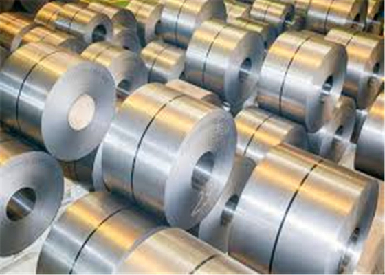 Cina GB DIN 304 Kumparan Stainless Steel / AISI Hot Rolled Galvanized Steel Coil pabrik